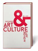 Santander Art & Culture Law Review, 2015