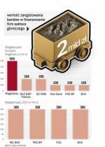 Tylko kilka banków finansuje polskie górnictwo
