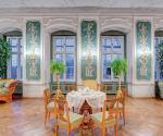 Rokokowo-barokowy Salon Zielony  z portretami antenatów Materiały Prasowe