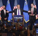 W republikańskich prawyborach Donad Trump znokautował przeciwników. Dostał 45 proc. głosów