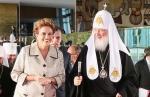W Brazylii patriarcha Cyryl spotkał się m.in. z prezydent Dilmą Roussef