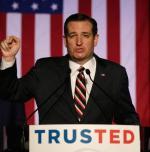 Ted Cruz przemawia w połowie marca na spotkaniu republikanów w Teksasie, stanie, z którego jest senatorem