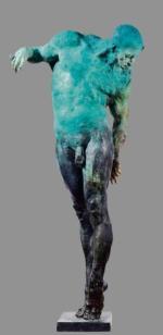 Zainteresowanie budziła rzeźba Grzegorza Gwiazdy