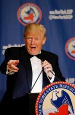 Donald Trump był we wtorek pewien zwycięstwa w rodzimym stanie Nowy Jork