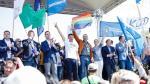 Liderzy partii i KOD podczas sobotniej demonstracji w Warszawie. Razem na scenie i razem w polityce?