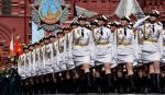 Pierwszy raz na placu Czerwonym – oddziały kursantek szkół wojskowych