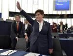 Parlament Europejski dwa razy zajmował się ostatnio Polską. Na zdjęciu Beata Szydło w PE