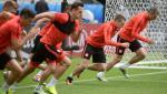 Polacy trenują na Stade de France