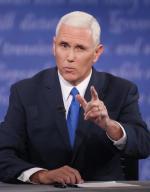 W debacie kandydatów na wiceprezydentów Mike Pence mówił z wielkim spokojem, aby zatrzeć wrażenie niestabilnego charakteru Trumpa.