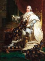 Ludwik XVIII zasiadał na tronie Francji w latach 1814–1824. Jego panowanie przerwał na sto dni powrót Napoleona