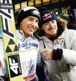 Kamil Stoch – dwukrotny mistrz olimpijski i Adam  Małysz w nowej roli – dyrektora koordynatora kadry w skokach i kombinacji norweskiej. Takiego duetu na ma w żadnej reprezentacji.