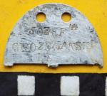 Nowe nieśmiertelniki będą nawiązywać do przedwojennych tabliczek identyfikacyjnych (na zdjęciu)