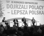 Językoznawcy Anna Cegieła  i Jerzy Bralczyk oraz historyk Andrzej Nowak podczas Kongresu Obywatelskiego rozmawiali o języku, który może odbudować wspólnotę.