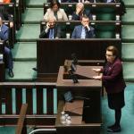 Wejście w życie zmian forsowanych przez Annę Zalewską (na zdjęciu w środę w Sejmie) wydaje się przesądzone. Czy są dobrze przygotowane?