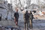 Prorządowe syryjskie oddziały we wschodnim Aleppo. Tę część miasta pomogli Baszarowi Asadowi odbić Irańczycy.