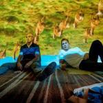Jonny Lee Miller (Simon) i Ewan McGregor (Renton)