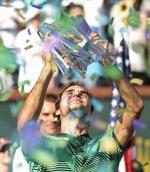 Roger Federer zdobył w Indian Wells swój 90. tytuł ATP Tour
