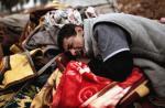 Mosul. Ten mężczyzna stracił bliskich 17 marca w wyniku wybuchu w dzielnicy Al-Mawsil al-Dżadida.