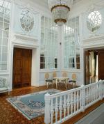 Odnowione i wyremontowane wnętrza pałacu w Balicach wykorzystywane są np. na konferencje i seminaria.