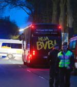 Autobus Borussii po zamachu.