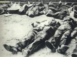 Ofiary masakry na Woli. Niemcy nie oszczędzali nikogo, bestialsko mordując mężczyzn, kobiety i dzieci.