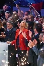 Marine Le Pen, wyzwolona seksualnie blondynka, nijak nie pasowała do obrazu tradycyjnego Frontu Narodowego.