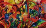 """""""Czerwony obraz z końmi"""" to symbol geniuszu i upadku Wolfganga Beltracchiego. Miał uchodzić za zaginione dzieło  Heinricha Campedonka, a ostatecznie sprawił, że Beltracchi trafił do więzienia"""