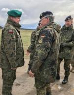 Korpus będzie monitorował sytuację w basenie Morza Bałtyckiego (na zdjęciu m.in. dowódca jednostki gen. Manfred Hofmann).