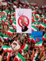 Wiec zwolenników Ebrahima Raisiego, rywala prezydenta.