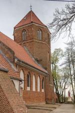 Zabytkowy kościół św. Jerzego w Niedźwiedziu