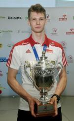 20-latek właśnie poprowadził reprezentację Polski  do lat 21 do mistrzostwa świata juniorów wczeskim Brnie, zdobywając jednocześnie tytuł MVP całej imprezy.
