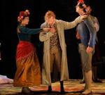"Julie Fuchs, Philippe Sly i Krzysztof Bączyk w ""Don ""Giovannim"" w Aix- en-Provence."