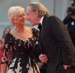 Helen Mirren i Donald Sutherland promowali film w Wenecji