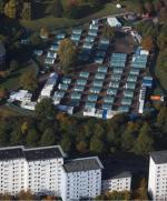 Obozy dla uchodźców są już stałym elementem niemieckiego krajobrazu. Na zdjęciu Hamburg
