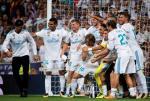 Real Madryt świętuje po zwycięstwie nad Barceloną w finale Superpucharu Hiszpanii