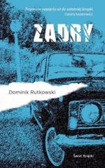 """Dominik Rutkowski, """"Zadry"""", Świat Książki, Warszawa, 2017"""