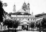 Cerkiew św. Ducha wraz z monastyrem.