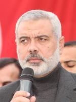 Ismail Hanija, szef Hamasu.