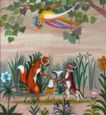 """Olga Siemaszko jest autorką projektów rysunkowych  do ponad 200 książek dla dzieci, w tym do """"Pinokia"""""""