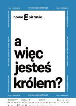 Plakat tegorocznej edycji festiwalu Nowe Epifanie.
