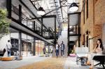 Praska Bohema firmy Okam – zrewitalizowana fabryka będzie uzupełniona nowymi budynkami.