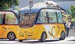 Swiss Post testuje już pierwsze samochody autonomiczne.