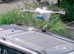 Dron Matternet dostarczy paczki bezpośrednio do furgonetek.