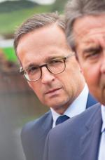 Heiko Maas (z lewej) zastąpi Sigmara Gabriela (z prawej) na stanowisku szefa dyplomacji.