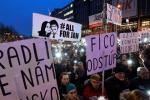 Największa demonstracja odbyła się w Bratysławie. Przyciągnęła kilkadziesiąt tysięcy uczestników.