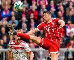 Robert Lewandowski – najskuteczniejszy obcokrajowiec w historii Bayernu.