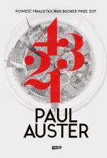 Paul Auster 4 3 2 1  Przeł. Maria Makuch,  Znak, Kraków 2018
