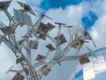 Solarne drzewo – Energy Tree – to jeden z symboli Bristolu.