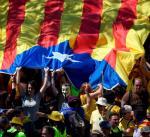 W ostatnią niedzielę Katalończycy protestowali przeciw uwięzieniu liderów ruchu niepodległościowego.