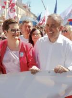 Katarzyna Lubnauer jest skazana na współpracę  z Grzegorzem Schetyną
